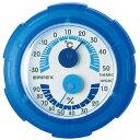EMPEX 温・湿度計 シュクレミニ温度・湿度計 TM-2386 クリアブルー