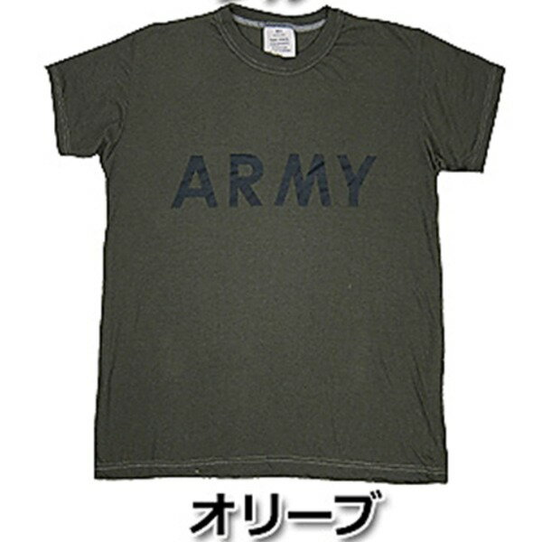 USタイプARMYオバーダイTシャツ S  オバーダイオリーブ