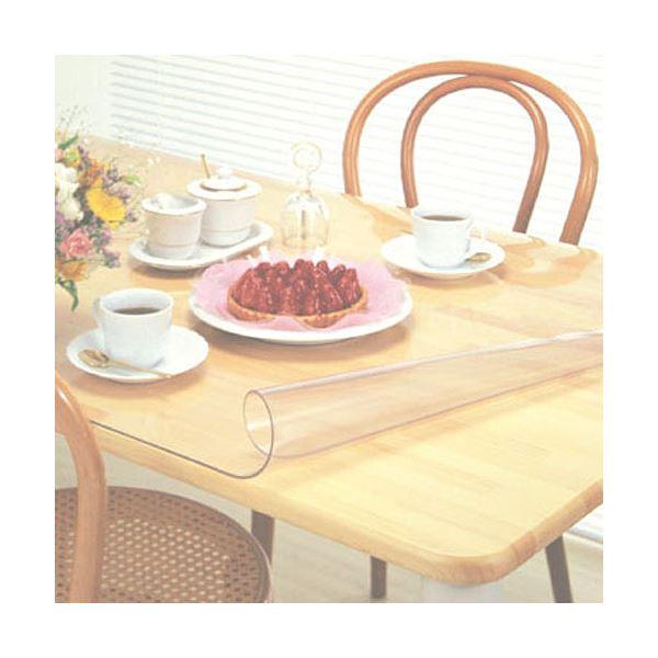ダイニングマット/テーブルマット  軟質塩ビ材 日本製 ミワックス 1T-8080