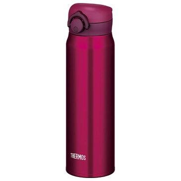 【THERMOS サーモス】 水筒 真空断熱ケータイマグボトル 【ワインレッド】 600ml 大容量 天面アレンジ可