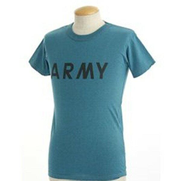 USタイプARMYオバーダイTシャツ  XS  オバーダイブルー