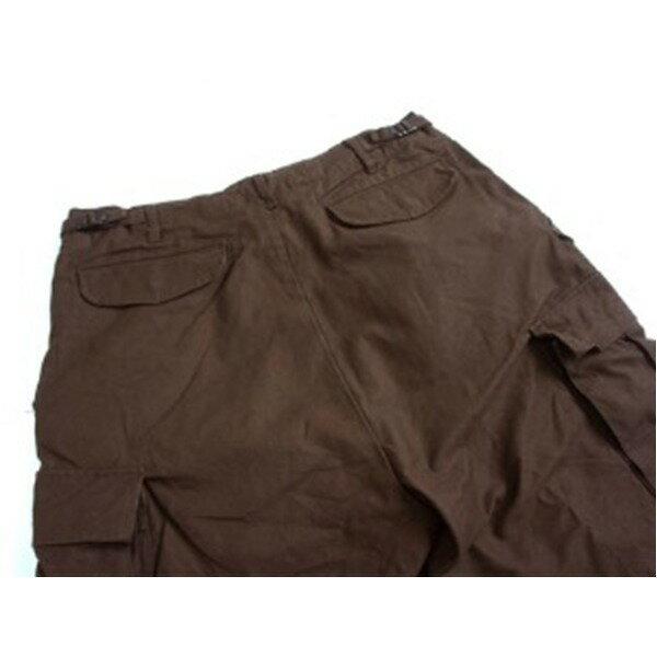 USタイプ「 M-65」フィールドパンツ 七部丈 ブラウン メンズ Lサイズ