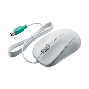 (業務用セット) エレコム(ELECOM) 光学式マウス/PS2/3ボタン/ホワイト/ROHS指令準拠 【×3セット】