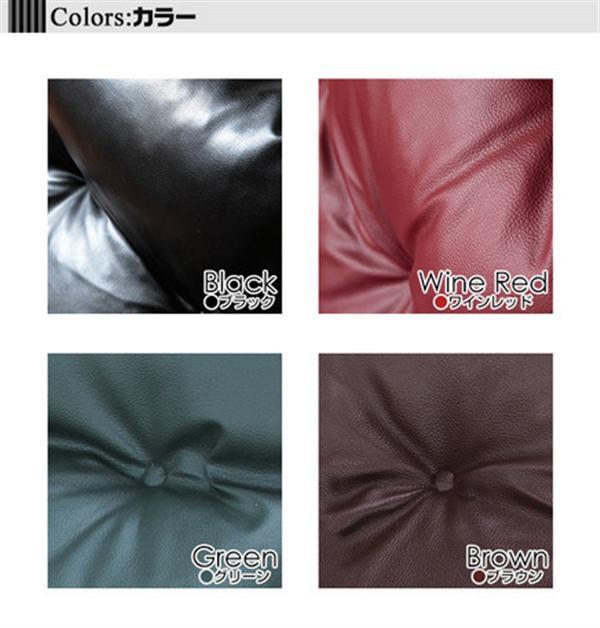 くつろぎのリクライニングアームチェアDX ブラック