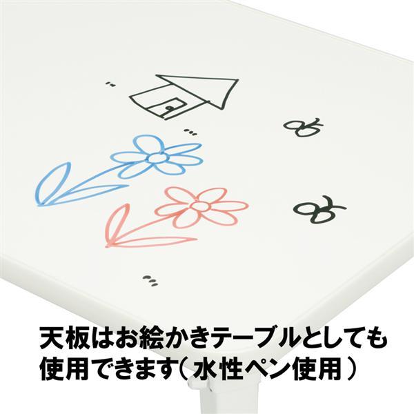 パステルカラー★お絵描き出来るペイントテーブル