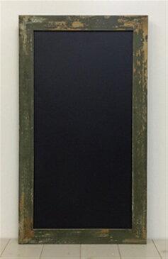 黒板・サインボード(木製グリーン塗装)・チョークボード・アパレル・飲食店向け 1点
