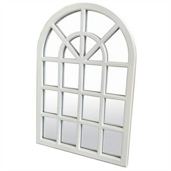 アーチミラー ホワイト窓型・北欧テイスト