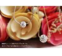 【2color】Balanceパールのsimpleショートネックレス(アジャスターつき)【ネコポスOK】nec005