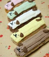 可愛い5種類ミートローフケーキセット