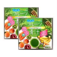 新日配薬品乳酸菌入りフルーツ青汁45包【2個セット】【お取り寄せ】(4529052003037-2)