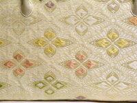 利休バッグ正絹帯地を使用しております。【税込み・送料無料】