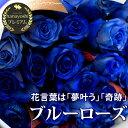 フラワーマーケット花由で買える「青いバラの花束〜5本以上から60本まででお好きな本数でお作り致します青バラ ブルーローズ バラの花束 誕生日 プレゼント 女性 母 彼女 プロポーズ 薔薇の花束 結婚記念日 妻 サムシングブルー 結婚式 送別会 花 退職祝い 父 メッセージカード無料」の画像です。価格は540円になります。
