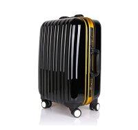 フレーム式スーツケース中型・Mサイズ・TSAロック搭載・旅行かばん・キャリーバッグ・1年保証付きアウトレット9001M送料無料