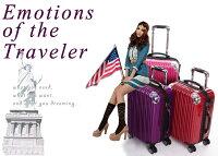スーツケース中型・超軽量・8輪・Mサイズ・TSAロック搭載・キャリーケース旅行かばん・キャリーバッグ・トランクTH6212アウトレット送料無料