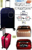 スーツケース・中型・超軽量・Mサイズ・TSAロック搭載・旅行かばん・キャリーバッグ・激安・即納1年保障付きTH12