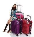 スーツケース小型・軽量・W車輪・Sサイズ・TSAロック搭載・...