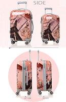 スーツケース大型・超軽量・Lサイズ・TSAロック搭載・旅行かばん・キャリーバッグ・激安・即納1年保証付き6202送料無料