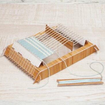 ミニ織り機 角形 丸型 テキスト付き hama ハマナカ 手芸の山久
