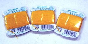 【フジックス】  絹紡糸(絹小町)3本合20mカード(ふとんとじ用)金茶(79番)【RCP】