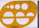和洋裁用具、ソーイング用品、テンプレート【クライムキ】アールルーラー (テンプレート)KMS-02