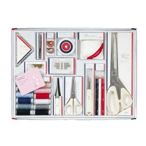 裁縫セット 1910 白 大人 ソーイングセット 17点セット 大人用裁縫セット