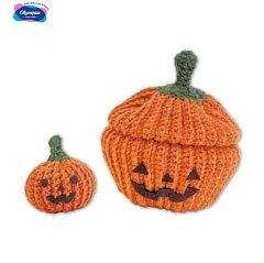 編み物 手芸キット かぼちゃのハッピーBOX MK-72 ハロウィン 編み物キット オリムパス 手芸の山久