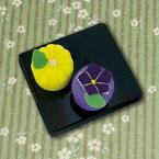 ちりめん キット PA-693 和菓子マグネット 菊と桔梗 手芸キット ちりめん 磁石 オリムパス olm 手芸の山久