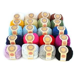 アクリル毛糸カフェキッチン20色各1玉セットアクリルたわし並太日本製ダルマ毛糸手芸の山久05P24Oct15