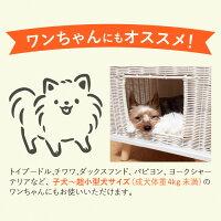 猫犬ペットベッドかくれんぼスクエアKakurembosquare約41.5×41.5×36.5cm■四角ペット小型犬通年冬夏ドーム型かわいいおしゃれ手作り高級感プレゼントキャットハウススツール座れるテーブルラタンインテリア編み込み