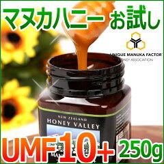 マヌカハニー UMF10+ UMF協会認定 お試し【マヌカハニー UMF 10+ 250g】ニ…