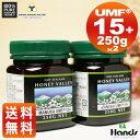【マヌカハニー】【アクティブマヌカハニーUMF 15+ 250g】★2個セット天然蜂蜜/はちみ…