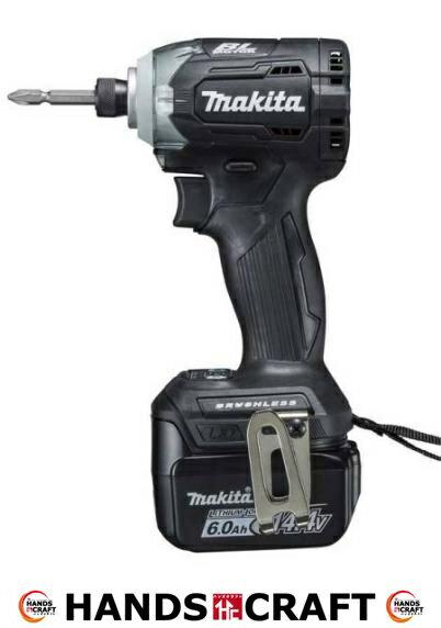 【未使用】マキタ makita 充電式インパクト ドライバー (14.4V 6.0Ah) TD160DRGXB 黒 (バッテリー×2、充電器、ケース付)【新古品】【中古】:ハンズクラフト