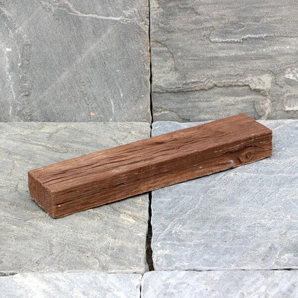 腐らない コンクリート / リアル!軽量コンクリート製 枕木ガーデン 縁石 小 ブラウン 3221822 送料別 通常配送