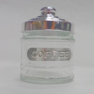 ガラス キャニスター COFFEE 15 高さ:約15cm (5754984)送料別 通常配送