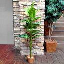 人工観葉植物 エレファントイヤー 16003 高さ約146cm (9078932)送料別見積 大型・割れ物