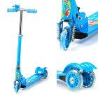 イージースケーターキックボード3輪子供キッズキックスケーターキッズ用子供用乗り物玩具3−6歳初心者ブレーキプレゼント幼児おもちゃ