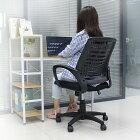 オフィスチェアオフィスチェアー送料無料メッシュハイバックデスクチェアコンパクトパソコンチェアワークチェアPCチェアOAチェア4色から選べるメッシュチェアーオフィスチェアオフィスチェアチェアーいす椅子