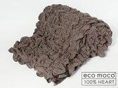 【日本製・今治】モコモコ2重ガーゼタオルハーフケット・ecomoco Goo Goo towel half ket吸水 爽やかケット