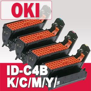 ID-C4BK/C/M/Y/ドラムOKIリサイクル品※リターン(回収後1週間)トナー全品宅急便無料!(他商品との同梱は承れません)