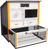 【ドイツKARLIE】猫・超小型犬に対応したペット用ドア!STAYWELL3204WAYロックキャットドアウッド【猫ペットドアハウスお出かけ】