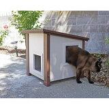 【Kerbl】ドイツからデザインがかわいいペット用品が登場!Kerbl室内・室外用大型犬用犬小屋ドッグハウスMDogHouse85x73x80cm【犬小屋ハウス】※お取り寄せ