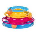 【ドイツTRIXIE】新発売!TRIXIE 猫用知育玩具 キャットサークルタワー キャッチザボール