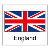 国旗シール(England)イギリス