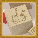 【送料無料】ハンドメイド・ラッピング・手芸のタグテープなどにも使えるネコスタンプ はんこ...