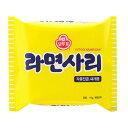 韓流館ショップで買える「【オットギ】ラーメンサリ」の画像です。価格は65円になります。