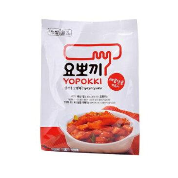 【YOPOKKI】ヨッポギ甘辛味袋280g名称トッポギ(ソース付) 1袋 2人前