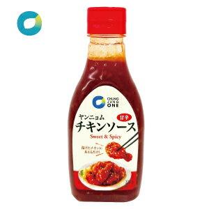 【清浄園】ヤンニョムチキンソース/300g/テサン/甘辛チキンタレ