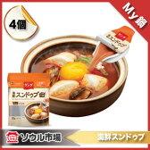 【My鍋】海鮮スンドゥブ・液体ポーションタイプ( 20gX4個)