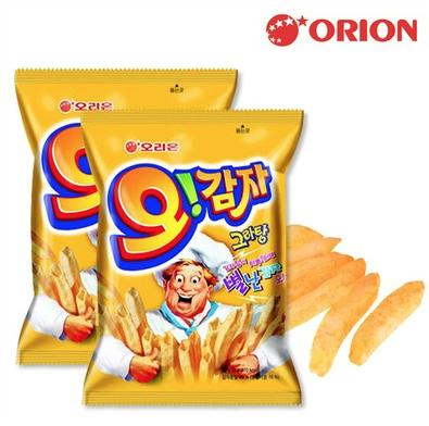 【 ジャガイモスナック】 オ!カムジャ 50g【オリオン】