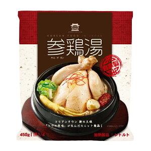 ソウル市場 自社製 レトルト参鶏湯 サムゲタン 1/4サイズ 450g(骨なし)